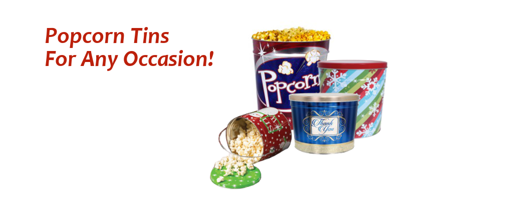 Wholesale Popcorn Tins For Christmas The Holidays Or Any Occasion